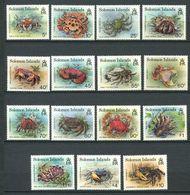 237 SALOMON 1992 - Yvert 767/81 - Crabe - Neuf **(MNH) Sans Trace De Charniere - Solomon Islands (1978-...)