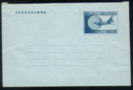 B19 - Belgium - 1984 - Postal Stationery Aerogram 22fr French Version - Stamped Stationery