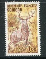 FRANCE- Y&T N°1725- Oblitéré (cerf) - Wild