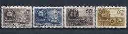 URSS397) 1947 -Societa Di GEOGRAFIA - Serie Cpl.4 Val. USED - 1923-1991 USSR