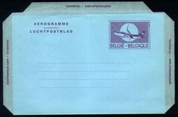 B19 - Belgium - Postal Stationery Aerogram 25fr FN Version - Stamped Stationery