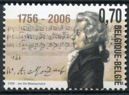BE   3470   XX   ---   Mozart - Unused Stamps