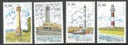 BE   3529 - 3532   XX   ---   Phares De La Côte Belge - Unused Stamps
