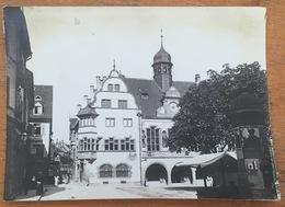 Photo De L'Hôtel De Ville De Fribourg Vers 1900. Allemagne. - Places