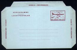 B20 - Belgium - 1976 - Postal Stationery Aerogram 14fr FN Version - Stamped Stationery