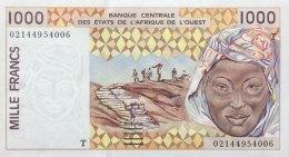West African States 1.000 Francs, P-811Ti (2002) - UNC - TOGO - Westafrikanischer Staaten