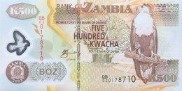 Zambia 500 Kwacha, P-43b (2003) - UNC - Sambia