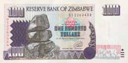 Zimbabwe 100 Dollars, P-9 (1995) - UNC - Simbabwe
