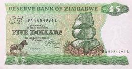 Zimbabwe 5 Dollars, P-2c (1983) - UNC - Simbabwe