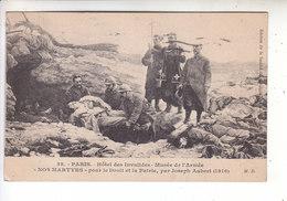 Sp- 75 - PARIS - Musee De L'armee - Nos Martyrs Pour Le Droit Et La Patrie - Aubert  Guerre 14 18 - Timbre - Cachet 1923 - Musées