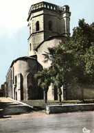 CPSM  Grand Format MAUBOURGUET  La Vielle Eglise Monument Historique RV - Maubourguet
