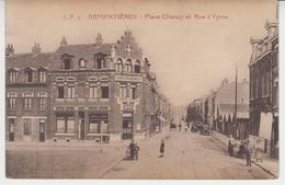 A877 /  ARMENTIERES   /  Place Chanzy Et Rue D ' YPRES / - Armentieres