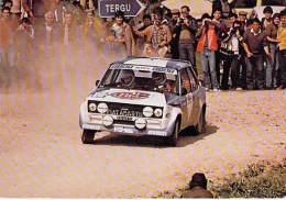 SPORT Automobiles RALLYE - FIAT ABARTH 131 ( Alen Kivimaki ) CPSM CPM GF - Cars Coches Automobili Auto's Kraftfahr - Rally Racing