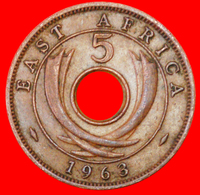 # GREAT BRITAIN: EAST AFRICA ★ 5 CENTS 1963! LOW START ★ NO RESERVE! - Britse Kolonie