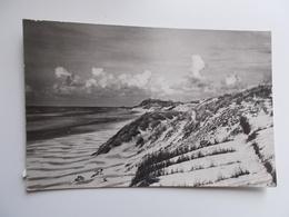 CPA.- LA PANNE - Oude Kaart-   Aantrekkelijke Duinen  , La Charme Des Dunes - De Panne