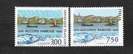 Monaco: N°3003** Avec Le Timbre Italien ** Accord Ramoge - Francia