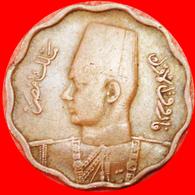 # SCALLOPED TYPE (1938-1943): EGYPT★ 10 MILLIEMES 1357-1938! FAROUK (1936-1952) LOW START ★ NO RESERVE! - Egypt