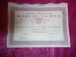 MINES DU LAURIUM - Unclassified