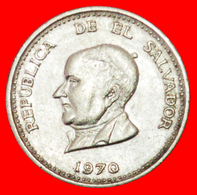 # GREAT BRITAIN (1970-1977): EL SALVADOR ★ 25 CENTAVOS 1970! LOW START ★ NO RESERVE! - El Salvador