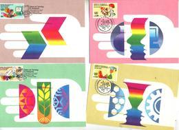 Carte Maximum 1992 Science Et Developpement - New York - Sede Centrale Delle NU