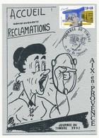 Carte Locale - Journée Du Timbre 1992 - 7 Mars 1992 AIX EN PROVENCE - Francia