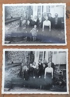 2 Photos. Famille Halais. Ferme. Autrain-sur-Couesnon. Ile-et-Vilaine. - Places
