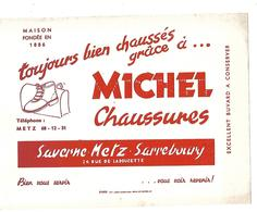 BUVARD    MICHEL  CHAUSSURES - Blotters