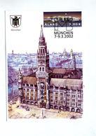 Carte Cachet Exposition Munich - Aland
