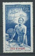 COTE-D'IVOIRE 1942 . Poste Aérienne N° 9 . Neuf ** (MNH) - Ivory Coast (1892-1944)