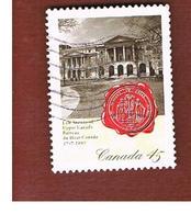 CANADA   -  SG 1726  - 1997  LAW SOCIETY OF UPPER CANADA                 -      USED - 1952-.... Regno Di Elizabeth II