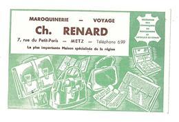 BUVARD       MAROQUINERIE  CH . RENARD   METZ - Blotters