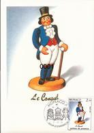 1794 à 1796 Santons De Provence 7/11/1991 - Maximumkarten (MC)