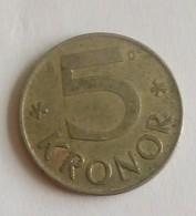 5 KRONOR,1990 - Schweden