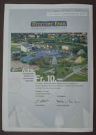 Mystery Park AG Interlaken Schweiz 10 Franken 200 Copon Sheet Signature Erich Von Däneken - Automobile