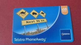 TELECARTE  AUSTRALIA  TELSTRA PHOENAWAY   *****    RARE      A  SAISIR   ****** - Nouvelle-Calédonie