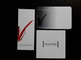 """VALENTINO   '""""  3  CARTES DIFFÉRENTES   !! - Modern (from 1961)"""