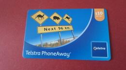 TELECARTE  AUSTRALIA  TELSTRA PHOENAWAY   *****    RARE      A  SAISIR   ****** - Nieuw-Caledonië