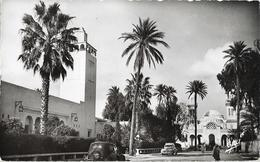 ALGERIE - LAGHOUAT - Municipalité Et église - Avec Voitures - Laghouat