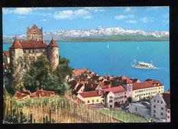 CPM Allemagne MEERSBURG Am Bodensee Schloss Mit Schweizer Alpen - Meersburg