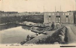 SAINT-OMER LE CANAL SOCIETE DES FRANCS-TIREURS 62 - Saint Omer