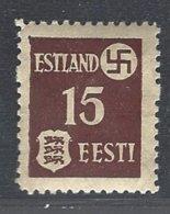 Estonie Occupation Allemande 1941  Yv 1  ** Mnh - Estonie