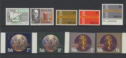 Malte - Malta 1971 Année Complète    *** MNH - Malte