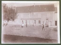 Photo à Virey. Virey-sous-Bar à Priori. Vacances. 1928. Animé. - Places