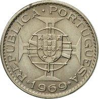Monnaie, Angola, 2-1/2 Escudos, 1969, TTB, Copper-nickel, KM:77 - Angola