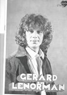 Catalogue 1977    9 Ième  Nuit Du Candélabre à Troyes Avec Gérard Lenorman - Books, Magazines, Comics