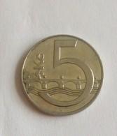 5 KORUNA,1993 - Czech Republic