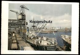 ÄLTERES FOTO HAMBURG HANS HARTZ ODERHAFEN SCHIFF RIO DIAMANT BUENOS AIRES Cargo Ship Hafen Harbour 19,5 Cm X 13,7 Cm - Repro's