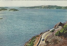 Uddevalla - Byfjorden. Sweden.   Sent To Denmark 1961.  # 07866 - Sweden