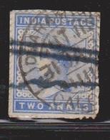 INDIA Scott # 40 Used  - Queen Victoria - India (...-1947)
