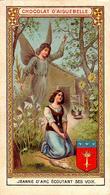 Lot De Divers Chromos Jeanne D'Arc, Sentinelle Avancée, Baptême De Clovis, Fête De La Fédération, Oeillet & Papillon - Aiguebelle